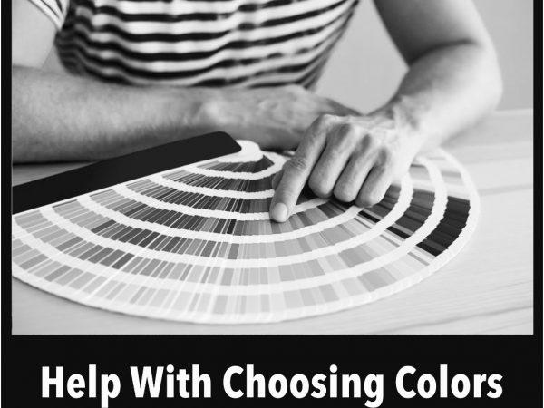 Help Choosing Colors