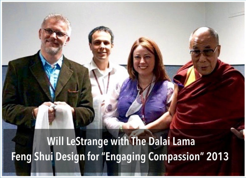 Will and Dalai Lama Feng Shui in Houston